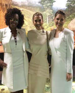 EPSY CAMPHELL, VICE PRESIDENT OF COSTA RICA, MS. CLAUDIA DOBLES FIRST LADY OR COSTA RICA. CEREMONY OF POSESSION 2018